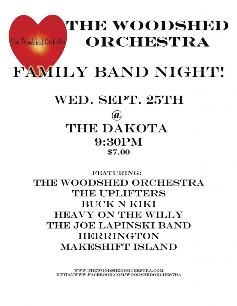 DCWO Family Band Night! 2013